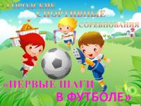 Территориальный этап городских  спортивных соревнований  «Первые шаги в футболе»