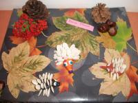 Конкурс поделок из природного материала «Осенние фантазии»