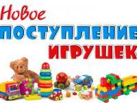 """Поступление новых игрушек в МБДОУ №102 """"Рябинушка"""""""